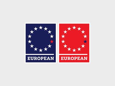 European Pin enamel pin pin political politics britain brexit remain european union eu european euro europe