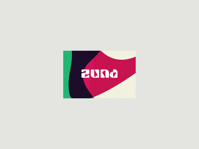 Zuna Fruit Tea Logo brand identity brandconcept briefbox fun blobs hot drinks hot drink brand branding logo design branding abstraction abstract logodesign tea fruit tea fruit zuna