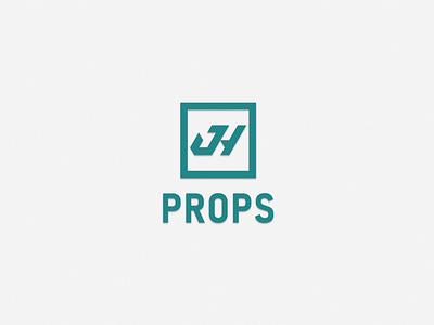 JH Props brand identity branding emblem prop 3dprinting vancouver designer prop design film industry filmindustry props