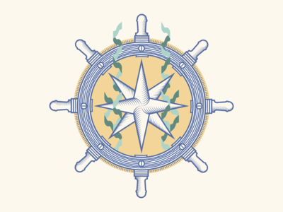 Compass Rose Wheel
