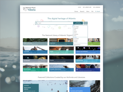 National Library Web Portal Concept