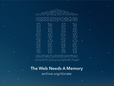 The Web Needs A Memory constellations space giving tuesday libraries archives internet archive stars fundraising donate donation