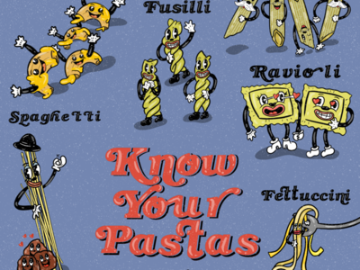 Know your pastas!