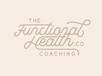 Logodesign concept Functional Health Co.