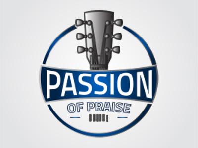 Passion Of Praise   Dribble branding logo design band logo music artist logo