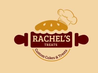Rachel's Bakery Logo logo logo design bakery logo