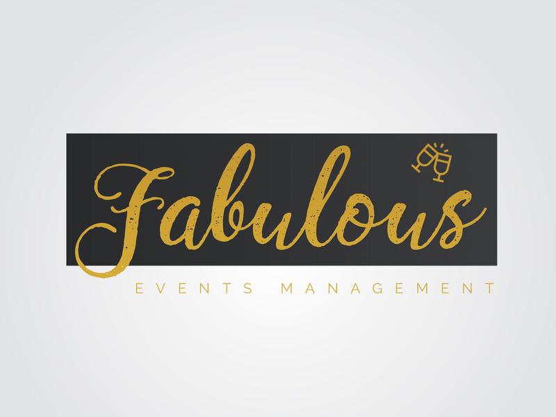 Fabulous Events Managements Logo Design corporate logo design logo logo design