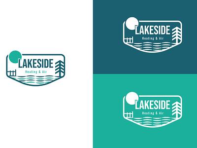 Lakeside Logo branding logo graphic design