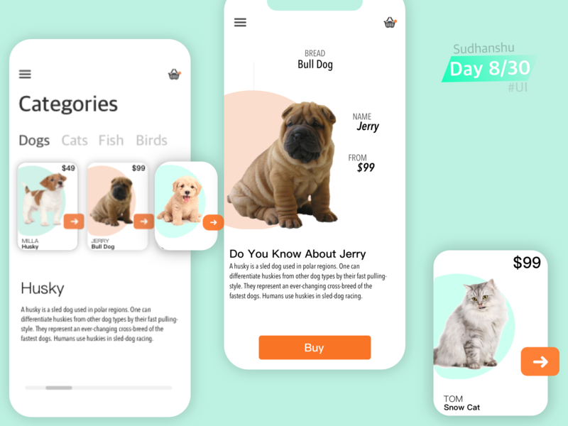 Pet Store App  // Buy & Sell Pets