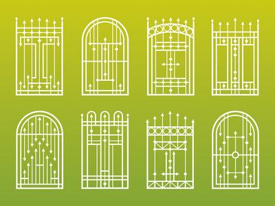 Garden gate type