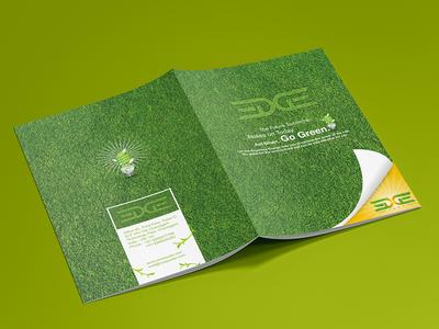 Go Green Conceptual Brochure