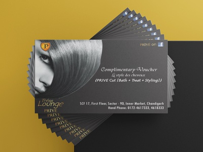 Complimentary Voucher design