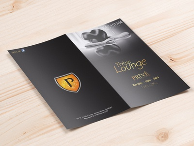 Salon Brochure Concept