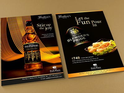 Food & Beverages Designs bar logo creative branding and identity food flyer design art graphics conceptual graphixon authentic