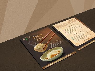 Dimsum Menu Design vector logo brochure design creative menu design graphics design art graphixon conceptual authentic