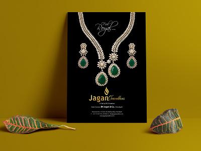 Jewellery Concept Creative flyer vector logo branding concept jewellery graphics design art graphixon conceptual authentic