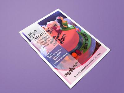 Mom's Special Creative brandidentity mothersday flyer logo graphics design art graphixon conceptual authentic