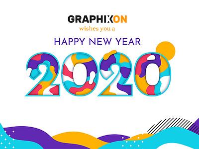 New Year Concept design creative branding concept logo graphics design art graphixon conceptual authentic