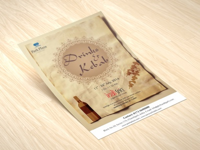 Drinks & Kebab Creative kebab drinks branding concept flyer creative graphics design art conceptual graphixon authentic