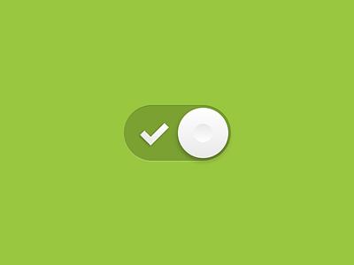 Toggle On toggle ui user interface