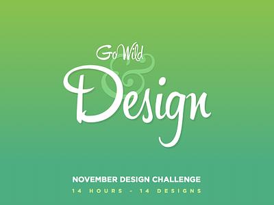 November Design Challenge - 2014 ndc2014 november design challenge user interface experience ui ux web mobile logo