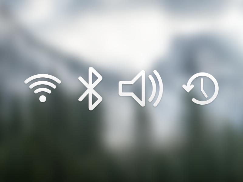 Yosemite toolbar icons ndc2014 icon set osx yosemite user interface experience ui ux
