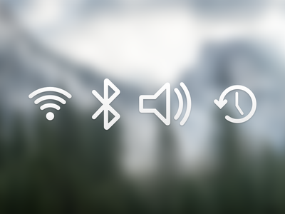 Yosemite toolbar icons ndc2014 icon set osx yosemite user interface experience ui ux