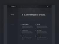 Nebula landing page preview