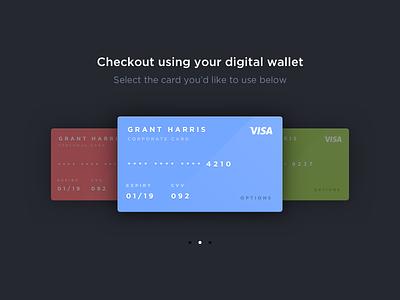 Credit cards rebound dark card credit experience interface user