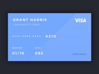 Credit cards rebound