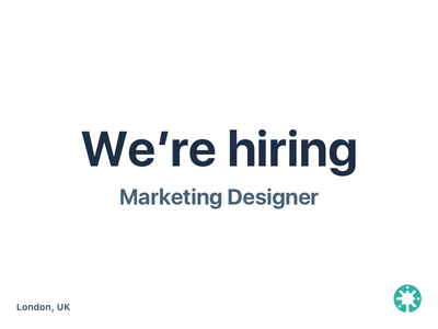 Beamery is hiring! opportuinty job designer design graphic marketing uk london beamery hiring