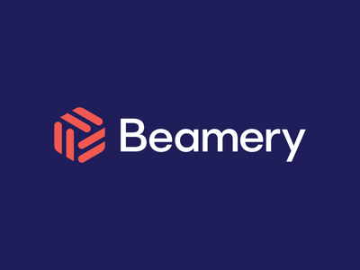 Beamery rebrand modern lockup logos branding rebrand brand