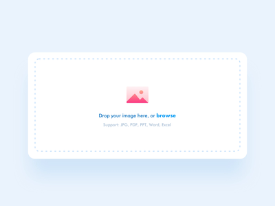Drag and Drop file design ui gif is life gif extension uploading alert desktop microinteraction progress progressive animation completed browase support loading drag and drop jpg file