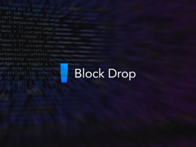 Logo Block Drop