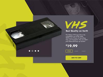 #012 E-Commerce Shop 80s ui layout website shop ecommerce neon vhs dailyui daily retro 012