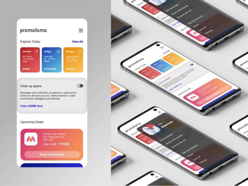 Daily UI_003   Landing Page challenge organizer tracker promos deals playful landing page ui design app 003 dailyui
