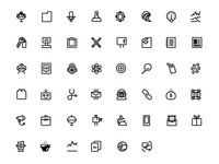MailChimp icon set