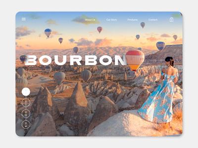 Bourbon ecommerce design online shop websites website concept webdesign web design design graphic design figma ui design ui website design website web