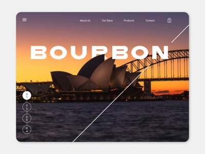 Bourbon 3 uiuxdesign uiux ui ux design ui design ui ecommerce design ecommerce website design website web design web concept webdesign web site