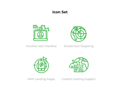icon set for consulting website