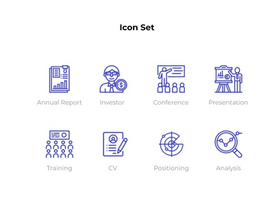 business icon set website icons uiuxdesign uiux ui icons iconset icon sets icon design iconography business icons business icon icon set icon