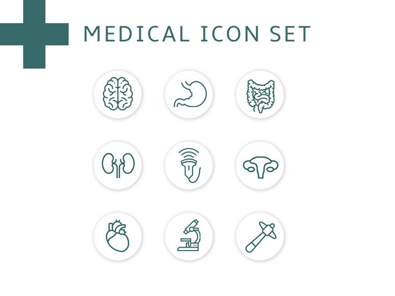 Medical Icon Set branding agency iconography icons pack icons ui design ui  ux uiux uidesign ui ux ui medical icon medical icons medical icon set icons set icon