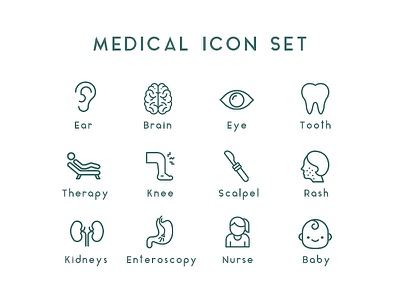 medical icon set 2 ui designs ui design uiux ui ux icon design icons design iconography medical icons ui medical medical design medical icons pack icons set icons icon pack icon set icon