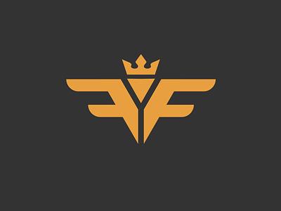 FF logo illustration logoart adobe illustrator minimal flat vector branding logo design