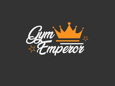 Gym emperor adobe designs illustrator flat minimal illustration vector branding logo design
