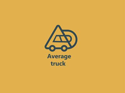 Average truck uxdesign logobrainy logoart designs minimal vector dribblers graphicdesign affinitydesigner design logo