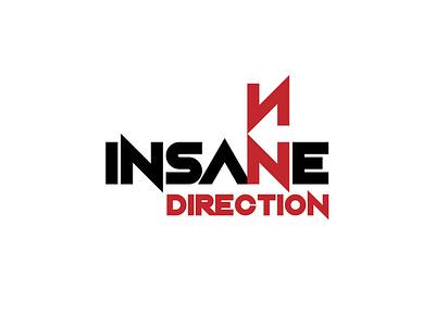 Insane Direction vector branding logo design