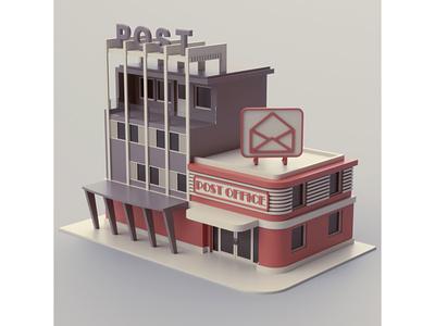 Post Office post office office post illustration