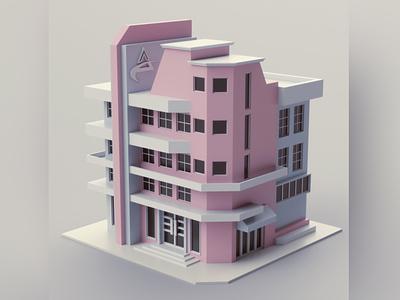 Office company office illustration