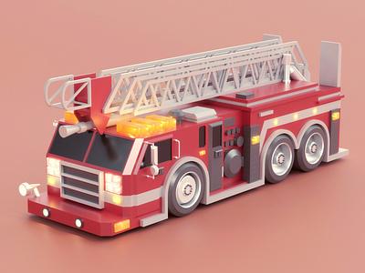 Fire truck truck fire truck automobile vehicle car illustration